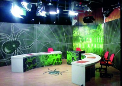 Σκηνικό τηλεοπτικού στούντιο