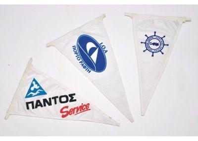 Τρίγωνα Σημαιάκια Σκαφών