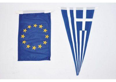 Τρίγωνο ελληνικό σημαιάκι