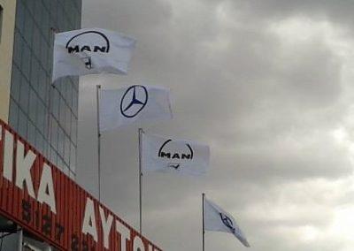Σημαίες Μάρκες Φορτηγών
