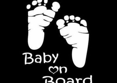 Μωρό στο αμάξι