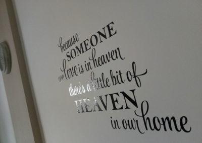 Heaven αυτοκόλλητο τοίχου