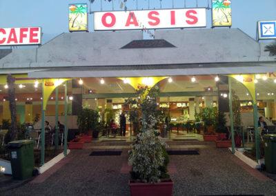 oasis επιγραφή μουσαμά φωτεινή