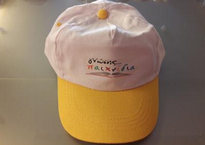 Εκτύπωση σε καπέλο