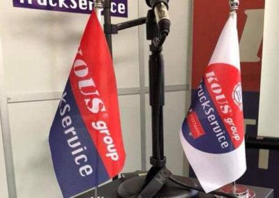 Σημαιάκια με μεταλλικο ιστό και βάση