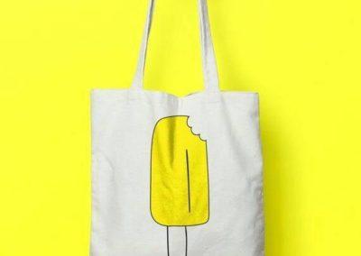 Πάνινη τσάντα με τύπωμα