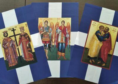 Εκκλησιαστικές σημαίες με Αγίους ΙΙΙ